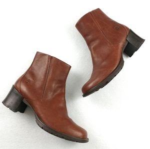 Timberland Alyse Chunky Heeled Boots Size 10